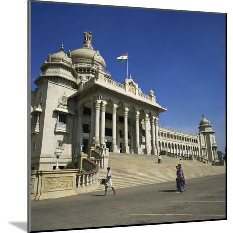 Vidhana Soudha, Bangalore, Karnataka State, India-Rolf Richardson-Mounted Photographic Print