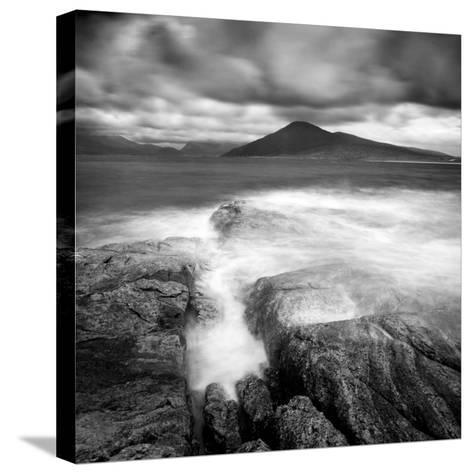 Luskentyre and the Hills of North Harris from Isle of Taransay, Outer Hebrides, Scotland-Lee Frost-Stretched Canvas Print