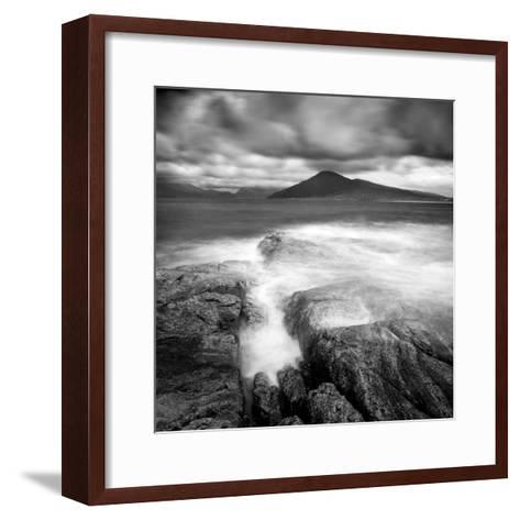 Luskentyre and the Hills of North Harris from Isle of Taransay, Outer Hebrides, Scotland-Lee Frost-Framed Art Print