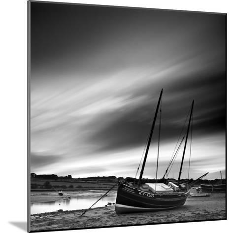 Aln Estuary at Low Tide, Alnmouth, Alnwick, Northumberland, England, UK-Lee Frost-Mounted Photographic Print