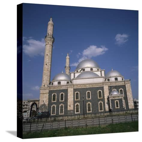 Khalid Ibn Al-Walid Mosque, Built in 1908, Homs, Syria, Middle East-Christopher Rennie-Stretched Canvas Print