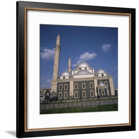Khalid Ibn Al-Walid Mosque, Built in 1908, Homs, Syria, Middle East-Christopher Rennie-Framed Art Print