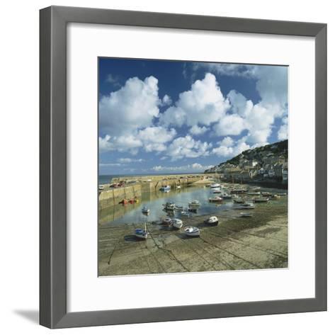 Mousehole, Cornwall, England, United Kingdom, Europe-Roy Rainford-Framed Art Print