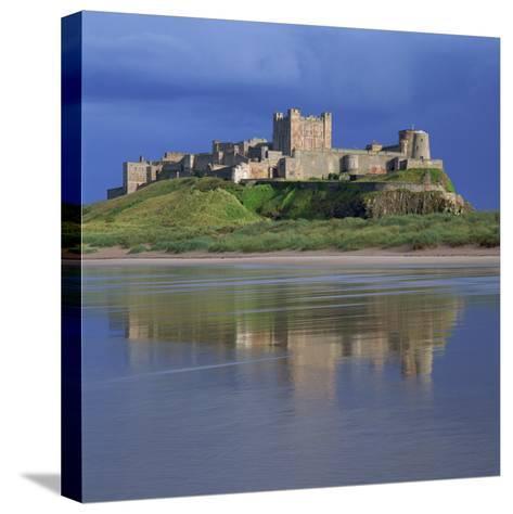 Bamburgh Castle, Northumberland, England, United Kingdom, Europe-Roy Rainford-Stretched Canvas Print