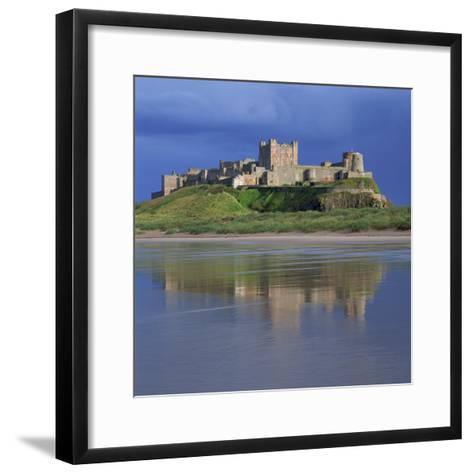 Bamburgh Castle, Northumberland, England, United Kingdom, Europe-Roy Rainford-Framed Art Print