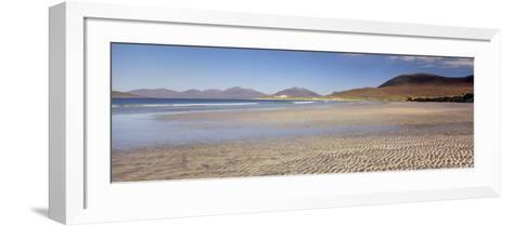 Traigh Luskentyre from Seilebost, South Harris, Outer Hebrides, Scotland, UK-Patrick Dieudonne-Framed Art Print