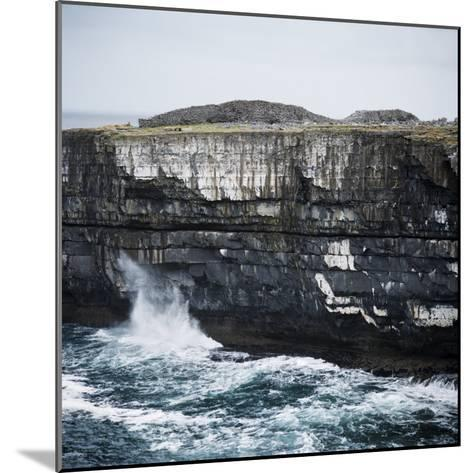 Black Fort, Aran Islands, County Galway, Connacht, Republic of Ireland, Europe-Andrew Mcconnell-Mounted Photographic Print