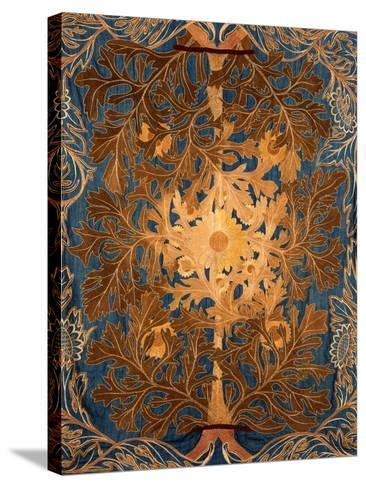 Sunflowers, England, Late 19th Century-William Morris-Stretched Canvas Print