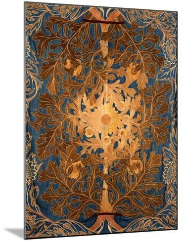 Sunflowers, England, Late 19th Century-William Morris-Mounted Giclee Print