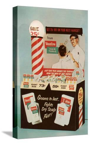 Barber Coupons--Stretched Canvas Print