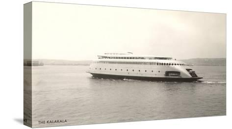 The Kalakala, Streamlined Seattle Ferry--Stretched Canvas Print