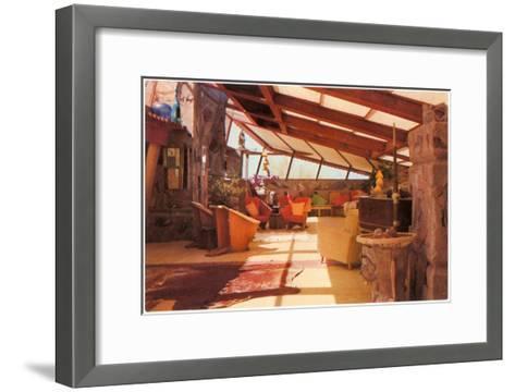 Interior Taliesin--Framed Art Print