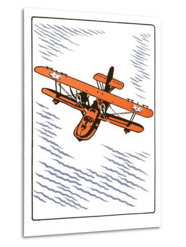 Seaplane--Metal Print