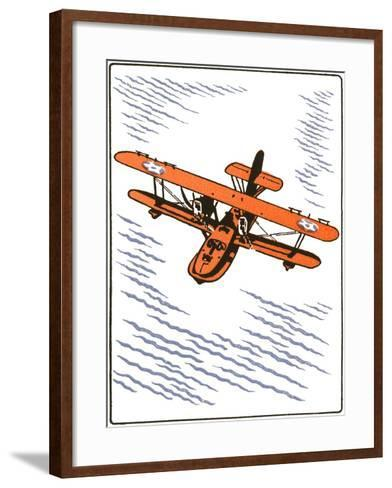 Seaplane--Framed Art Print