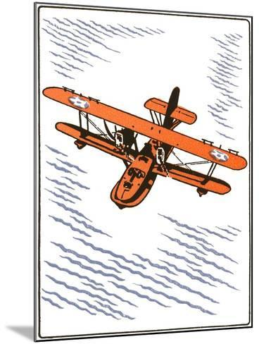 Seaplane--Mounted Art Print