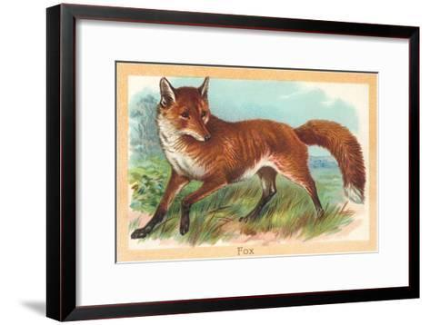 Fox in the Meadow--Framed Art Print