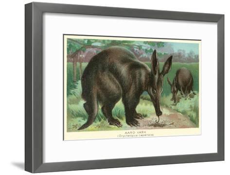 Aardvarks--Framed Art Print