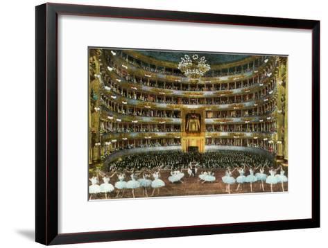 Ballet at La Scala--Framed Art Print
