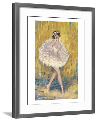 Ballerina--Framed Art Print