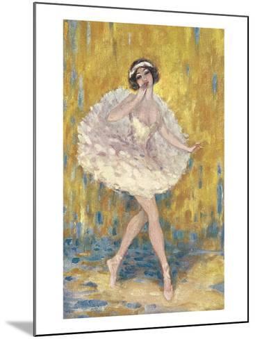 Ballerina--Mounted Art Print