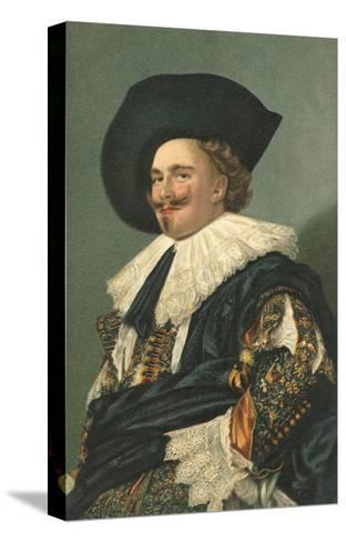 Dutch Cavalier--Stretched Canvas Print