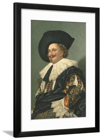 Dutch Cavalier--Framed Art Print
