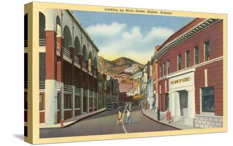 Main Street, Bisbee, Arizona--Stretched Canvas Print