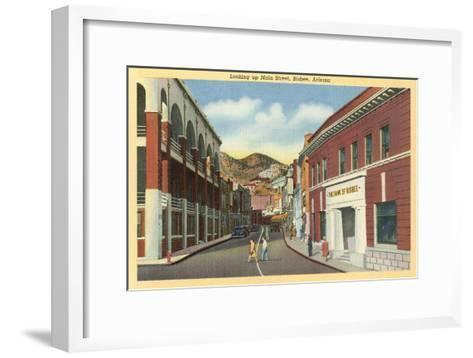 Main Street, Bisbee, Arizona--Framed Art Print