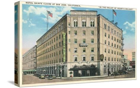 Hotel Sainte Claire, San Jose, California--Stretched Canvas Print
