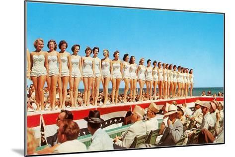 Fifties Beauty Contest--Mounted Art Print
