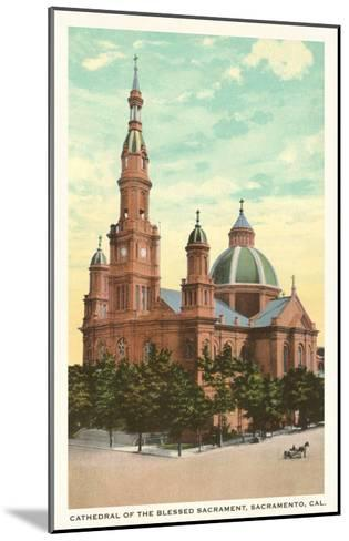Blessed Sacrament Cathedral, Sacramento--Mounted Art Print