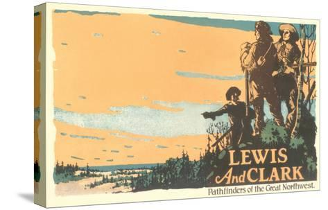 Lewis and Clark, Pathfinders--Stretched Canvas Print