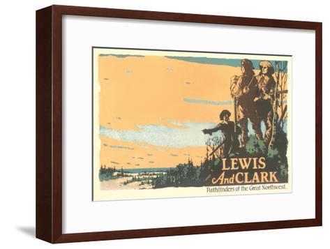 Lewis and Clark, Pathfinders--Framed Art Print