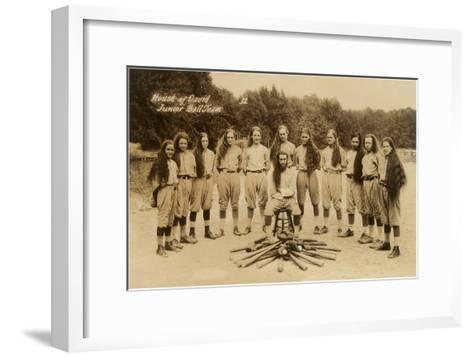 House of David Junior Baseball Team--Framed Art Print