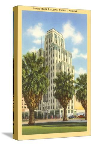 Luhrs Tower Building, Phoenix, Arizona--Stretched Canvas Print
