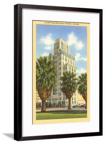 Luhrs Tower Building, Phoenix, Arizona--Framed Art Print