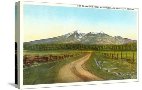San Francisco Peaks, Flagstaff, Arizona--Stretched Canvas Print