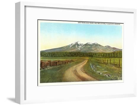 San Francisco Peaks, Flagstaff, Arizona--Framed Art Print