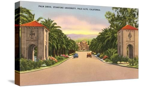 Stanford, Palo Alto, California--Stretched Canvas Print