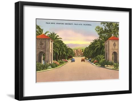 Stanford, Palo Alto, California--Framed Art Print
