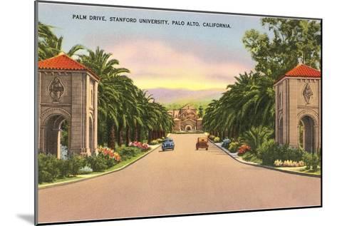 Stanford, Palo Alto, California--Mounted Art Print