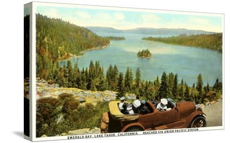 Emerald Bay, Lake Tahoe--Stretched Canvas Print