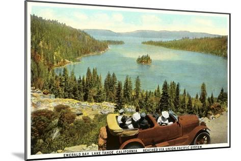 Emerald Bay, Lake Tahoe--Mounted Art Print