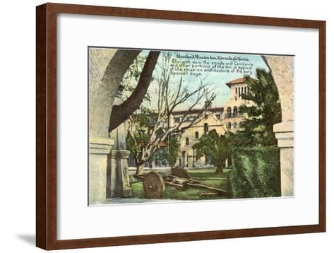 Glenwood Mission Inn, Riverside, California--Framed Art Print