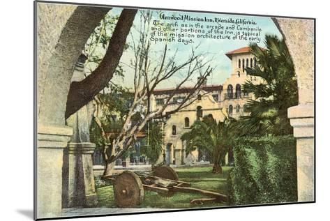 Glenwood Mission Inn, Riverside, California--Mounted Art Print