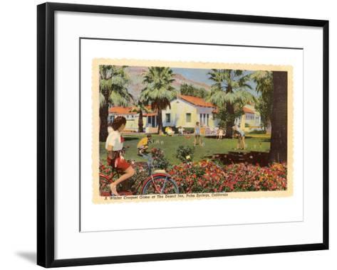 Desert Inn, Palm Springs, California--Framed Art Print