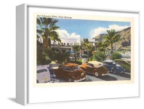 Del Tahquitz Hotel, Palm Springs, California--Framed Canvas Print