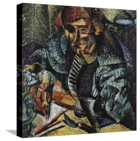 Antigraceful-Umberto Boccioni-Stretched Canvas Print