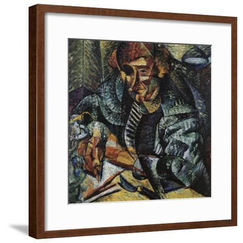 Antigraceful-Umberto Boccioni-Framed Art Print