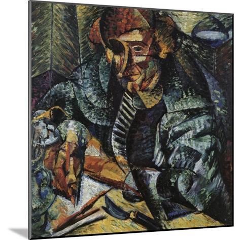 Antigraceful-Umberto Boccioni-Mounted Giclee Print